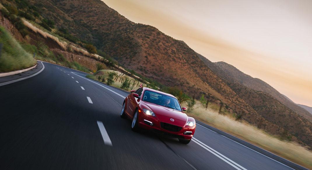 Sesión a Mazda RX8